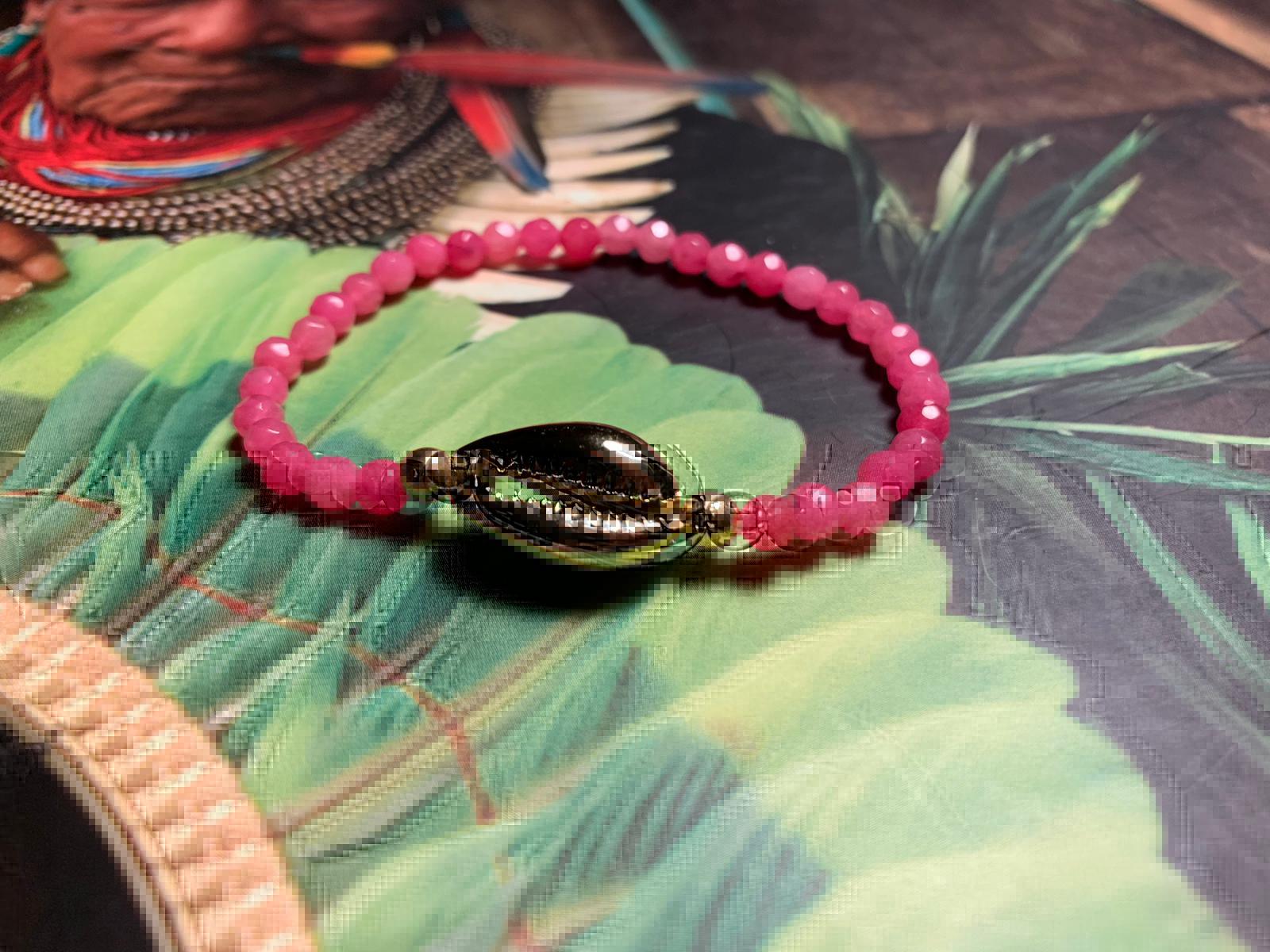 Bracelet Kaparda Quartz rose
