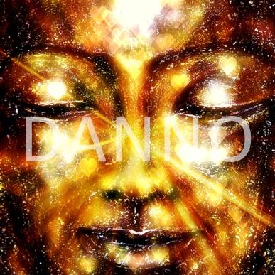 Danno Artiste peintre côtée Drouot Le Bouddha de la compassion Impression giclée sur Toile 100% coton structure mate, montée sur chassis bois