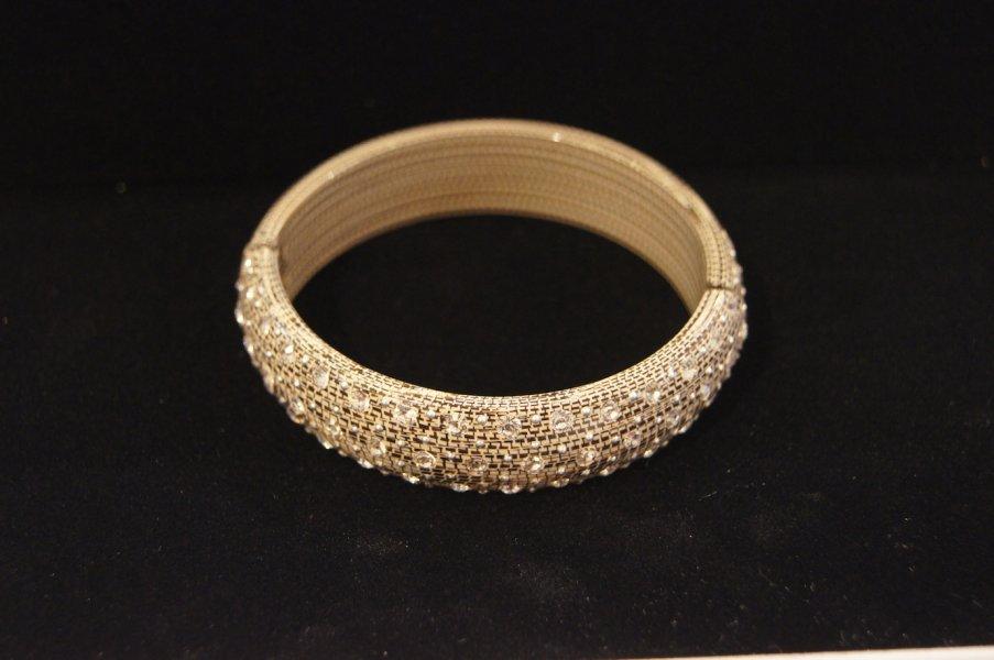 Bracelet fin strass python