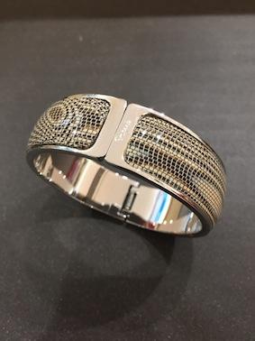 Bracelet métal large python