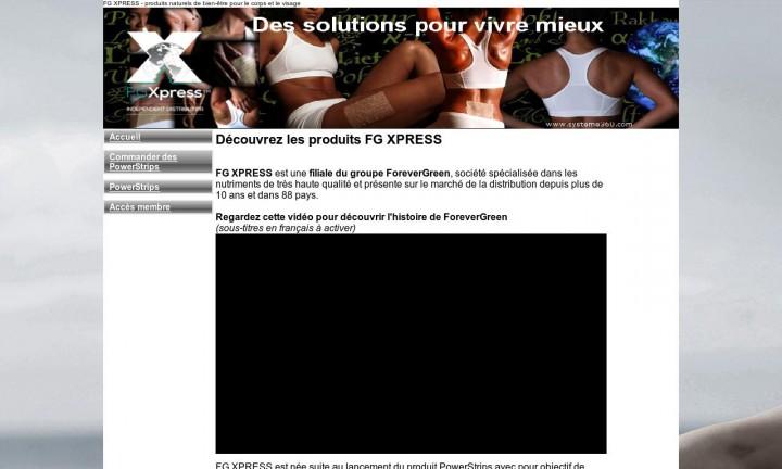 Distributeur FG XPRESS